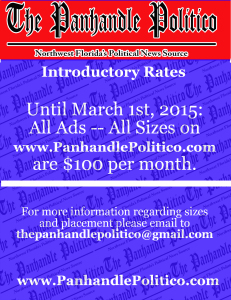 Panhandle Politico Rate Sheet