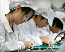 Tech Sweatshop of the sort that would be sanctioned under TPP