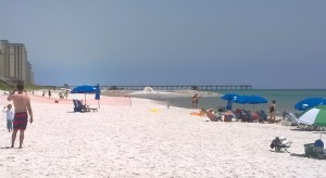 beach fill at navarre towers