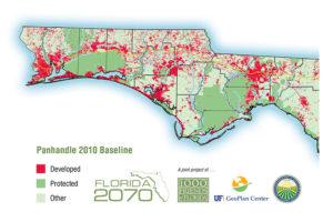 Panhandle 2010 development map