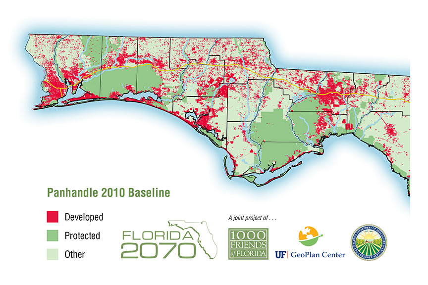 Florida 2070 Population Expected To Almost Double But Panhandle